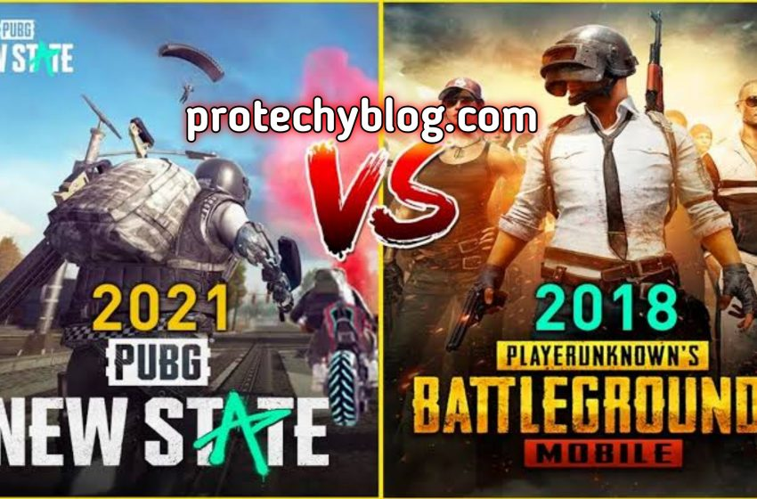 These are the difference Between Pubg Mobile and PUBG: New State